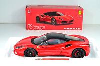 Ferrari 488 GTB rot Maßstab 1:18 von bburago Signature Series