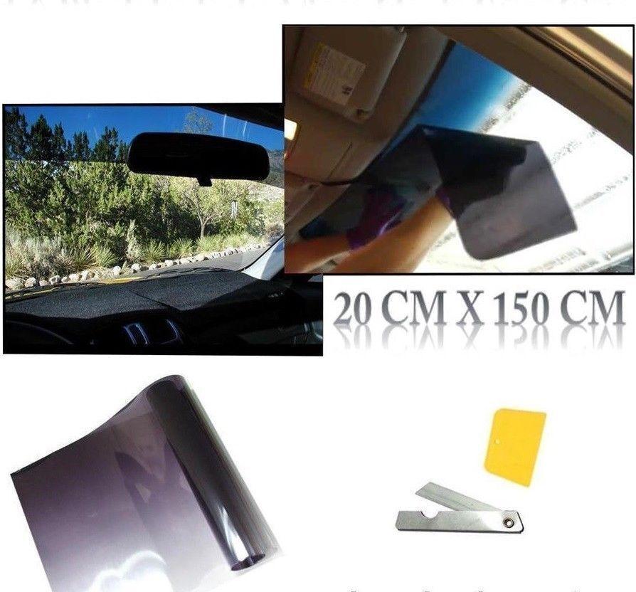 Leicht schwarz 50/% Auto Scheibentönung Rolle 3m 75cm Folie Tönung Sonnenblende