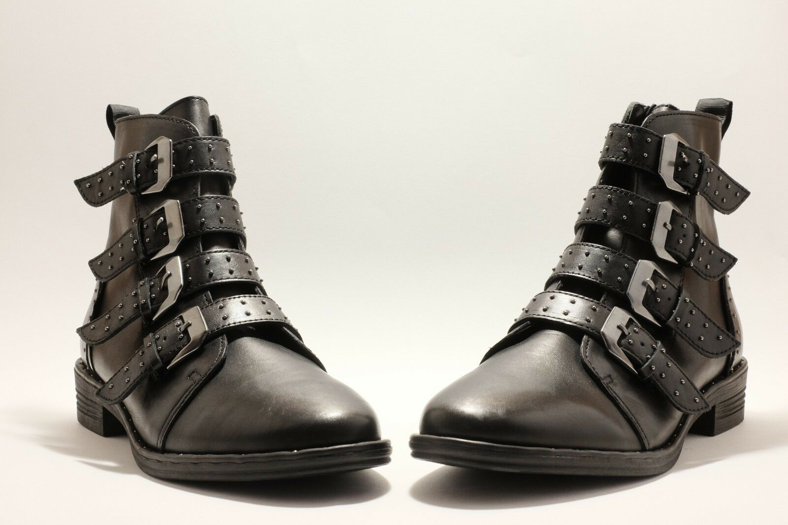 Steve Madden botas De Combate Negro Talla 7 Nuevo Nuevo Nuevo  mejor precio