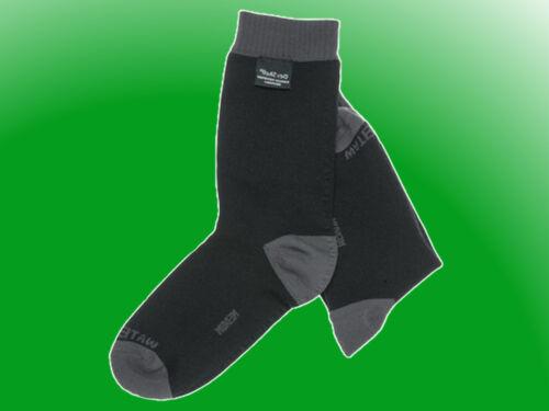 DexShell Coolvent Sock schwarz/grau - wasserdichte / wasserfeste Socke
