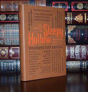 Legend-of-Sleepy-Hollow-Rip-Van-Winkle-by-W-Irving-Deluxe-Soft-Leather-Feel-Ed