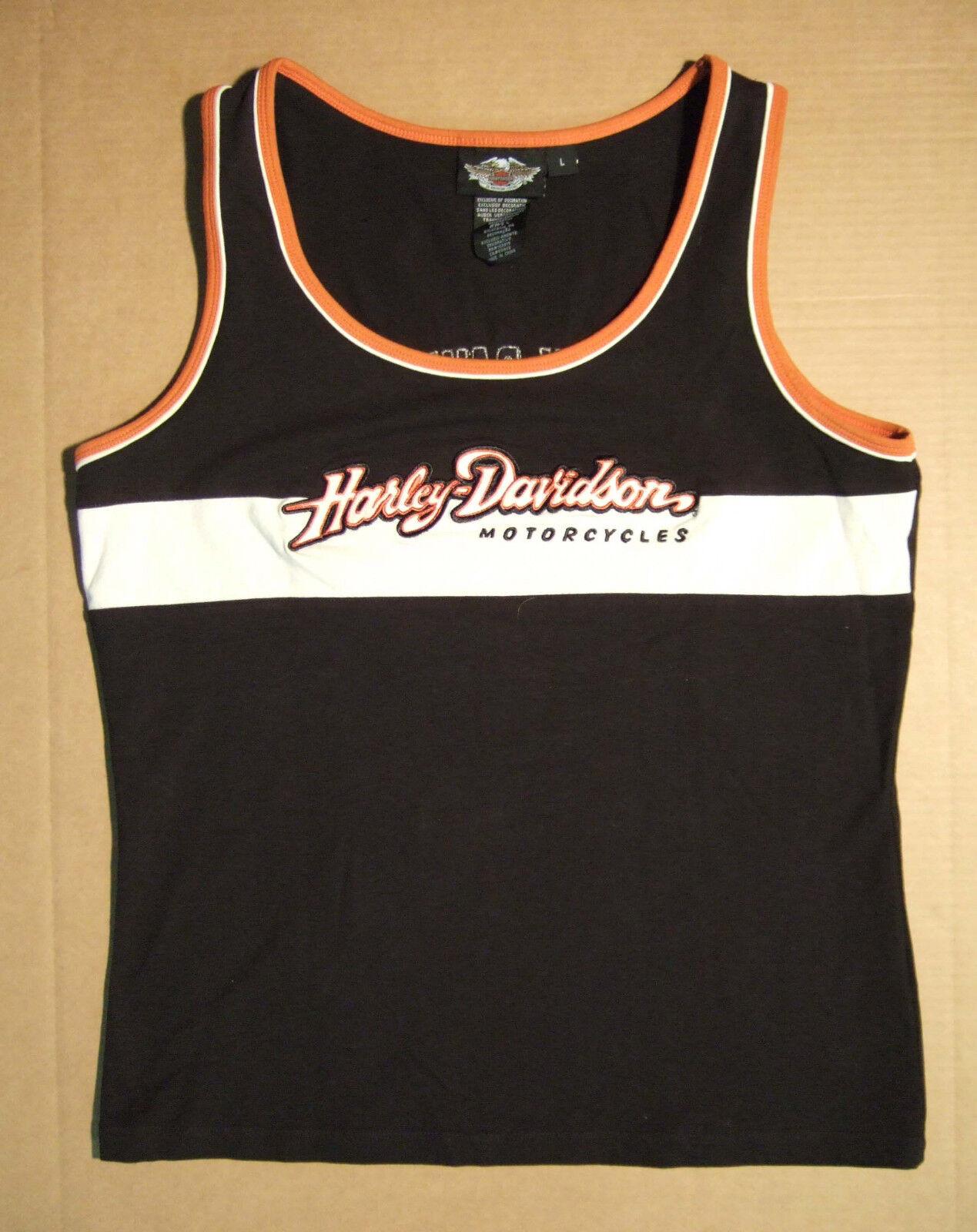 Tank-Top Damen Harley-Davidson  Prestige  schwarz 99070-08VW Einzelstück Größe L