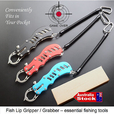 Other Fishing Equipment Sunny Pocket Aluminium Alloy Fish Lip Grip Grabber Gripper Fishing Tackles Angler-mate Wide Selection;