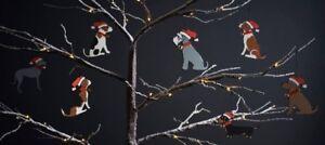 Christmas Tree Decoration DALMATIAN FRENCH BULLDOG PUG WESTIE Dog Tree Ornament