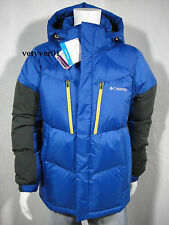 COLUMBIA Omni-Shield Omni-Wind Alaskan 900-Fill Power Goose Blue/Black size M