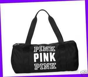 Victoria/'s Secret PINK Gym Bag Duffle Purse Tote Handbag Shopper PINK COLOR Cute