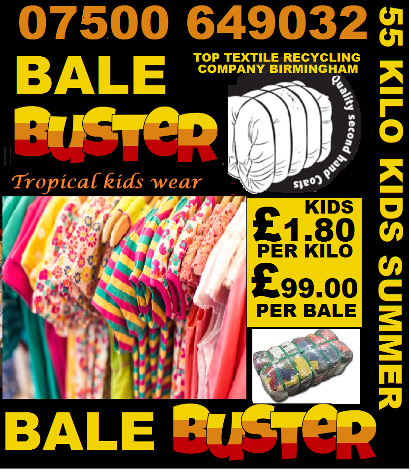 Used grade A clothing for Africa, 55 kilo bales, Call now or visit our factory