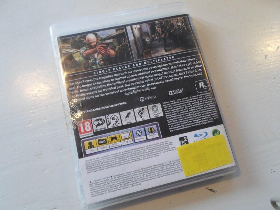 Max Payne 3, PS3