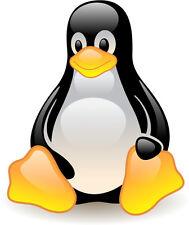 Contour cut Linux Tux Multi-Color Sticker (AlphaCMA)
