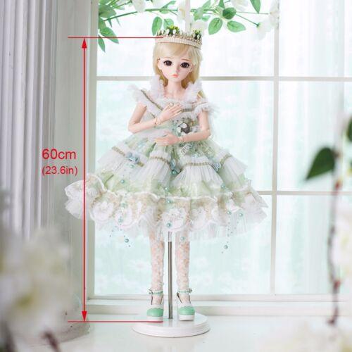1//3 FULL SET BJD Doll Lovely Princess Girl 18 Ball Joints Resin Female Xmas Gift