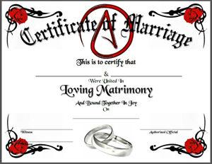 Atheist-Certificate-of-Marriage-Love-Alternative-Agnostic-Wedding-Gay-LGBT-Bond