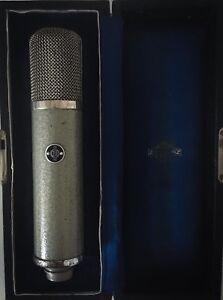 Neumann-Gefell-UM57-Vintage-Roehrenmikrofon-mit-Netzteil