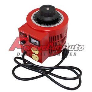 New 20 AMP 110V Autotransformer voltage Regulator Powerstat 0-130V output