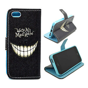 Girl-Men-Leather-Wallet-Phone-Accessory-Cover-Flip-Case-For-Apple-iPhone-5-5S-SE