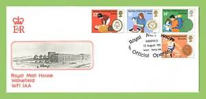 G-B-1981-Duke-of-Edinburgh-set-official-Royal-mail-Wakefield-First-Day-Cover