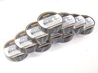 10 Roll Pack Of 3/4 Electrical Tape / Quality Motorcycle & Auto Wiring Supply