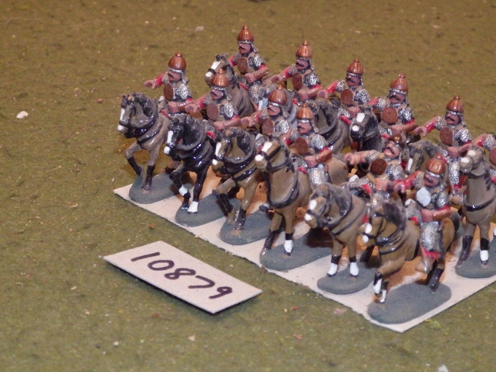 25mm dark ages   hun - cavalry 13 cavalry - cav (10879)