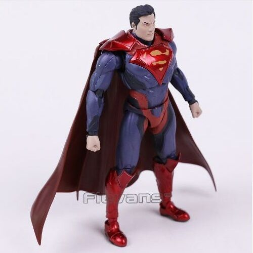 Dc universe - figura superman   ungerechtigkeit   superman - figur - shfiguarts replik