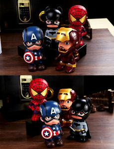 Avengers-Spiderman-Superhero-Savings-Piggy-Bank-Creative-Money-Box-Birthday-Gift