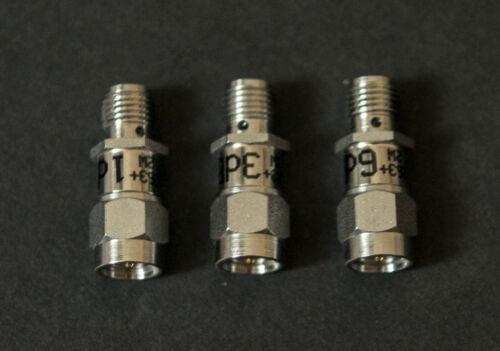 LOT OF 3 MINI-CIRCUITS  SMA ATTENUATORS 1 6 DB 18GHz 2W 3