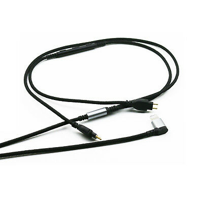 Replacement Cable Sennheiser HD650 HD600 HD580 Remote volume/&Mic  Android phone