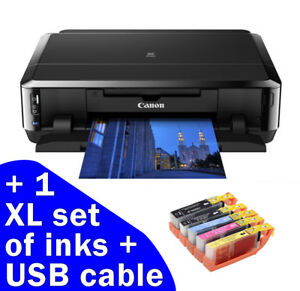 Canon PIXMA iP7250 WiFi USB Photo CD DVD Printer +1 set of XL Inks ideal present