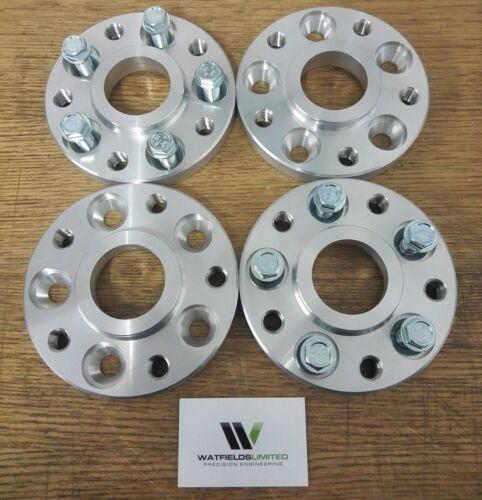 Adaptadores Hubcentric 5x112-5x120 20mm 66.6-72.5CB Merc M14x1.5 Para BMW M12x1.5