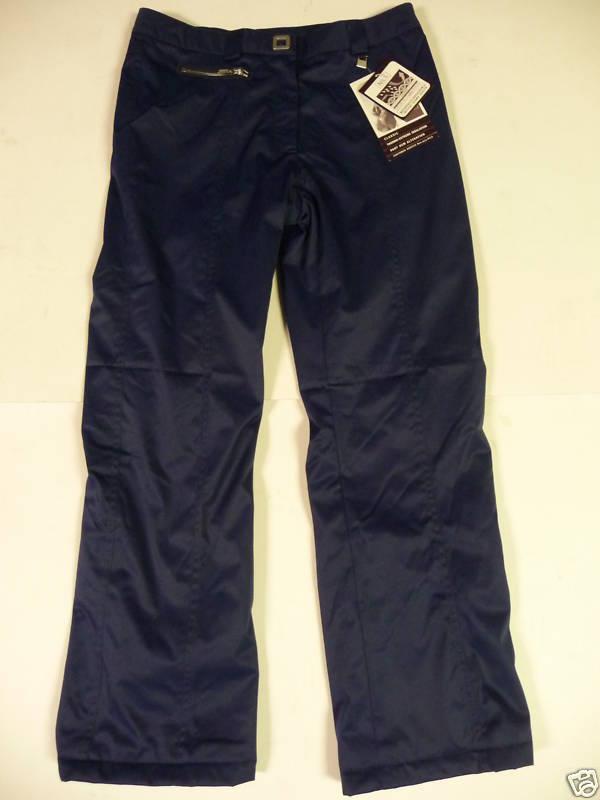 Nils Melissa Classic Pants Women Ski Waterproof Insulated Midnight bluee 10 M