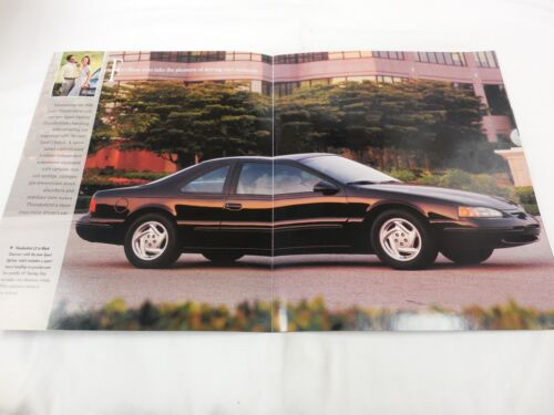 Thunderbird Ford Dealership Showroom Sales Brochure 1996