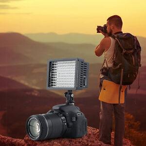 160 Led Studio Video Light For Canon Camera Dv Camcorder Photography Yfl6 Jouir D'Une Haute RéPutation Sur Le Marché International