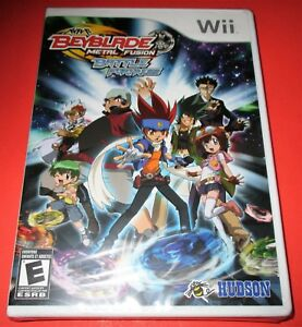 Beyblade Metal Fusion Battle Fortress Nintendo Wii New Sealed