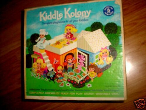 Little Liddle Kiddles Klub Club Kolony Doll House Case