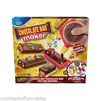Chocolate Bar Maker Easy Bake Chocolate Pen Colorful Stamps Wrappers Candy Maker