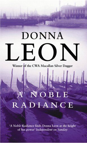 1 of 1 - DONNA LEON __ A NOBLE RADIANCE __ BRAND NEW ___ FREEPOST UK