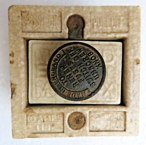 Details about VTG CERAMIC FUSE BOX ELECTRIC USE MEM DIX MADE IN ENGLAND on