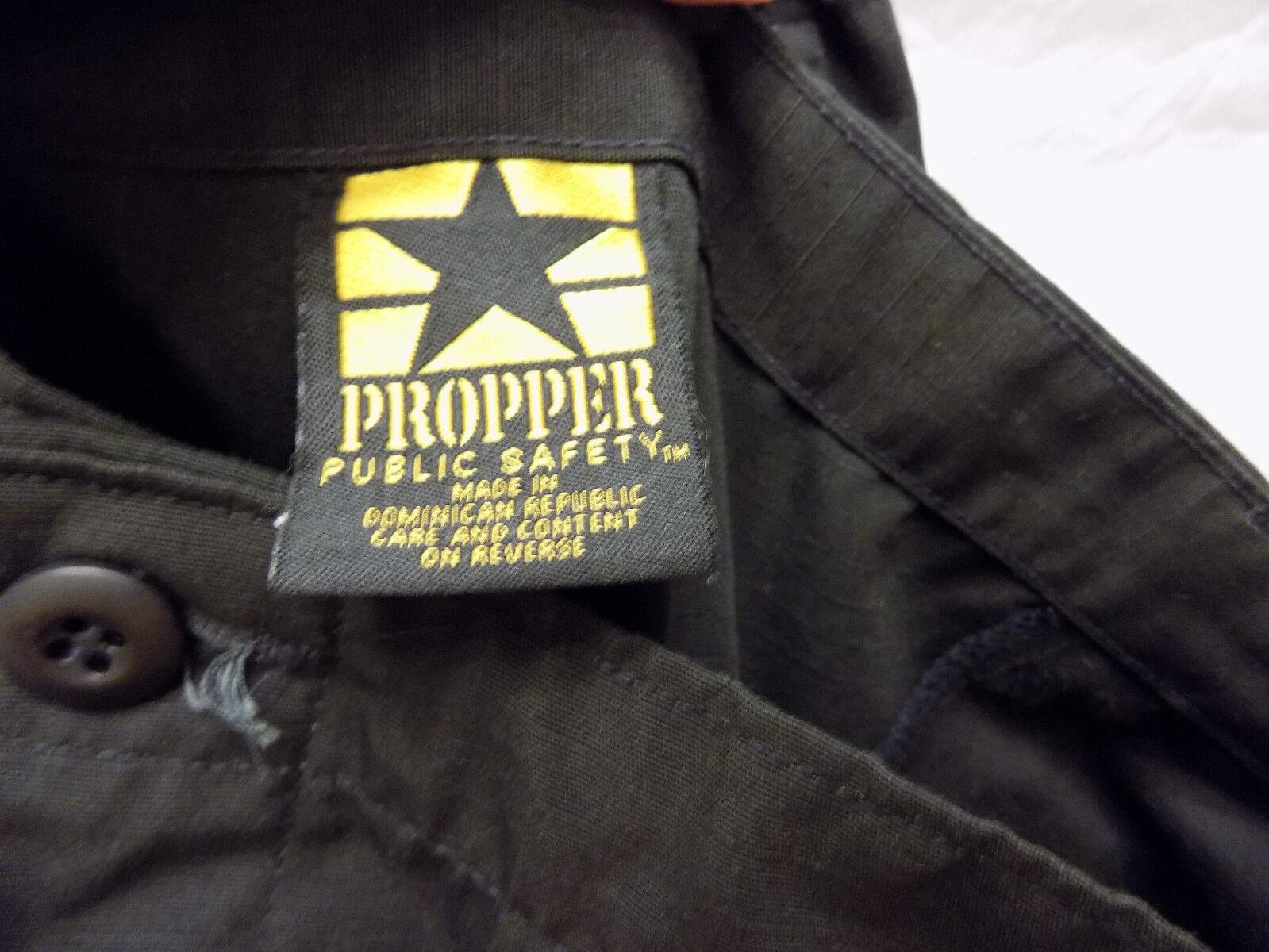 Nuevo Hombre PROPPER Cargo Pants Negro Xxx Large Regular Regular Regular 119cm 122cm 124cm 127cm dd7c90
