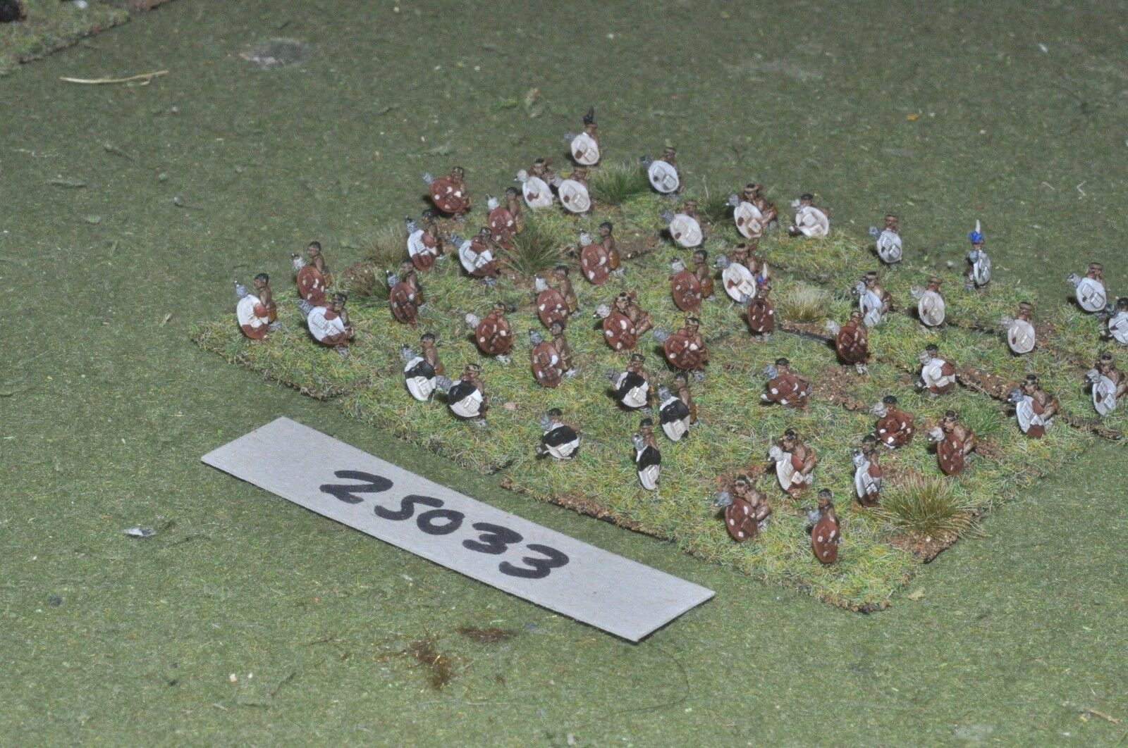 10mm colonial   zulu - - - warriors 48 figures - inf (25033) cfb386