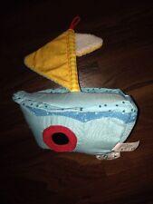 Haba Spieluhr Pauls Schiff 3759 Blau Gelb Spiegel Anker Ente Segelboot Kordel