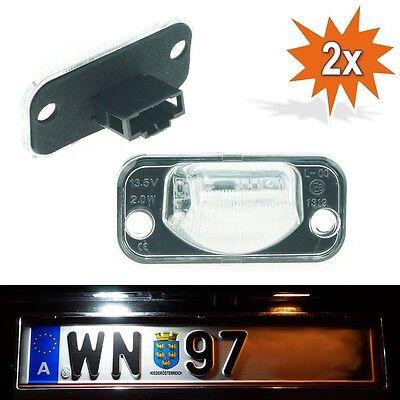 LED Kennzeichenbeleuchtung VW Transporter T4 Leuchte Nummernschild TÜV frei D-18