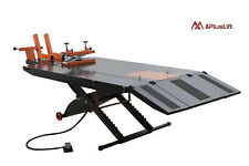 Apluslift 1500lb Air Operated Motorcycle Atv Lift Table With Side Ext Mt1500x