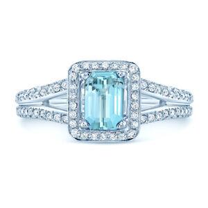 Aquamarin-Diamantring-18k-Weissgold-Smaragd-Schliff-Halo-Split-Schaft-1-26TCW