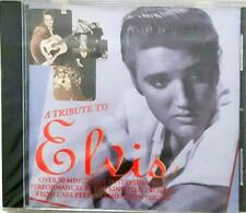 A TRIBUTE TO ELVIS PRESLEY CD SEALED SIGILLATO