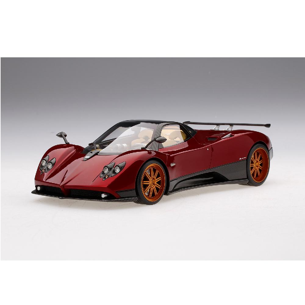 Top Speed Models – 1 18 Scale – Pagani Zonda F in rot Dubai Scale Model