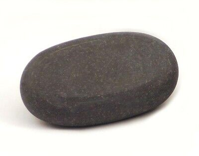HOT STONE MASSAGE: Large Basalt Grandmother (Belly) Stone 12x7x3cm