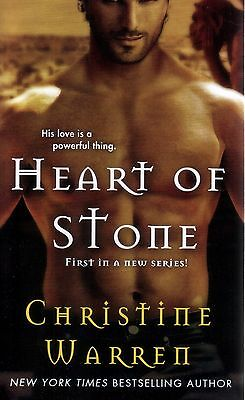 Christine Warren   Heart Of Stone   Paranormal Romance  Pbk NEW