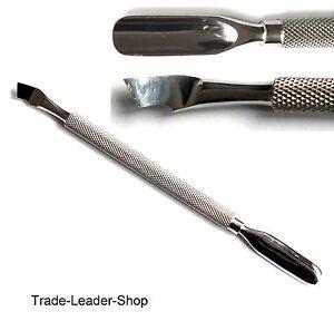 Kit-manucure-poussoir-de-cuticule-gouge-NATRA-acier-inox