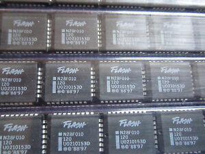 N28F010-120-28F010-INTEL-1024K-128K-x-8-CMOS-FLASH-MEMORY-32-PIN-10pcs-NEW