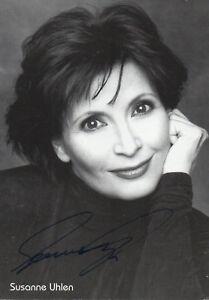 Susanne Uhlen Autogramm Original, Unzertifiziert