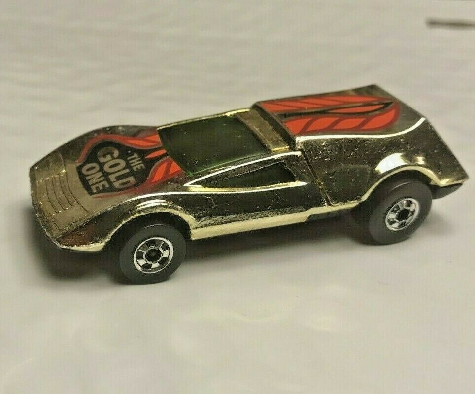 Diecast Hot Wheels negrowall Buzz Off The oro uno Hong Kong Cromo Coche Mattel.
