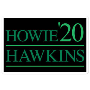 Howie Hawkins Sticker Presidential 2020 Green Party Election USA 3rd Party Decal
